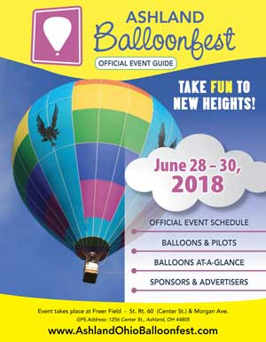 View the Official Ashland Balloonfest Event Guide Online