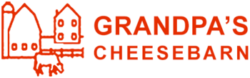 grandpas cheese barn logo